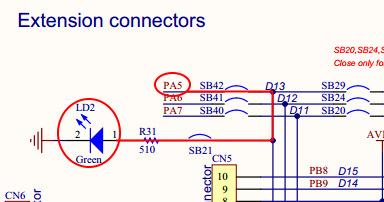 Simple Blinky tutorial on Nucleo-F401RE using STM32CubeMX
