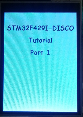 STEmWin on STM32F429I-Discovery with SW4STM32 (Part 1