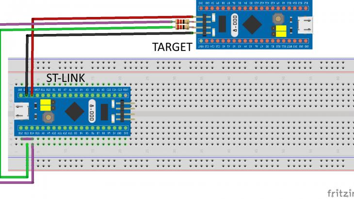 Making your own ST-LINK V2 from STM32 Blue-Pill or STM32