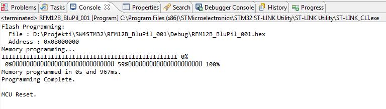 Programming STM32 from TrueSTUDIO using ST-LINK clone | Slemi's webpage